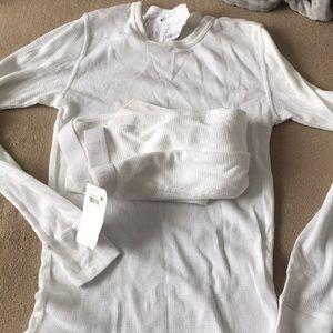 New Men's sleepwear shirt with pants